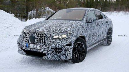 Le Mercedes-AMG GLE 63 Coupé poursuit son développement