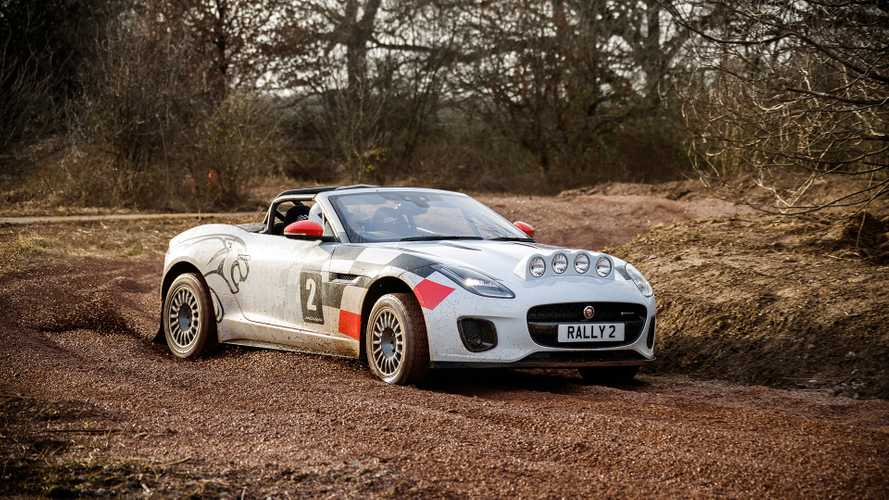 Jaguar F-Type Rally Car first drive