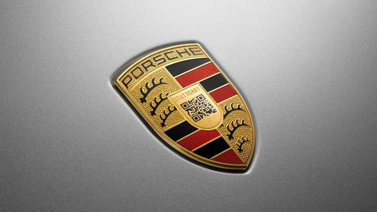 Porsche Taycan QR Code Badge