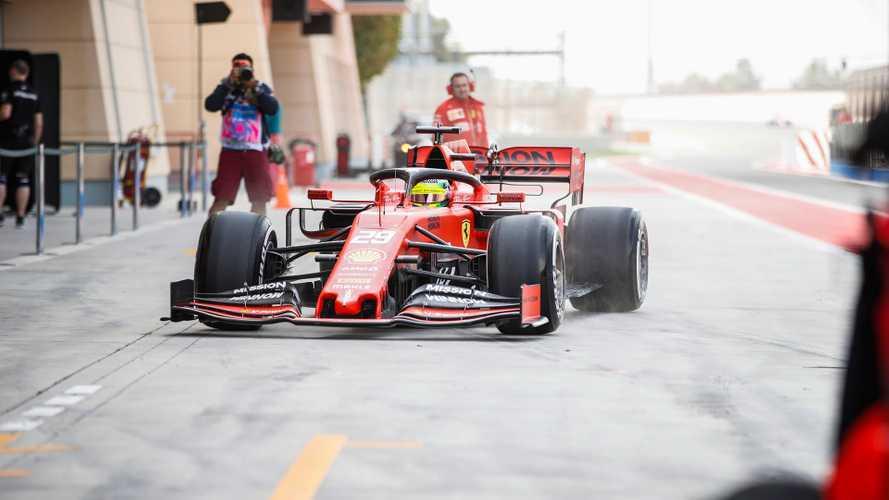 F1, Bahrain: c'è di nuovo uno Schumacher al volante della Ferrari