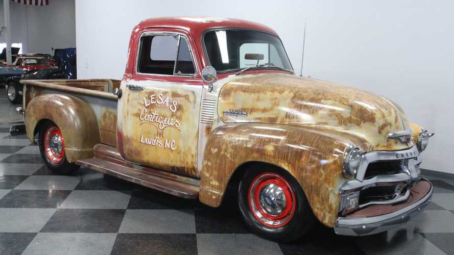 This 1954 Chevrolet 3100 3 Window Might Look Worn, But It Isn't