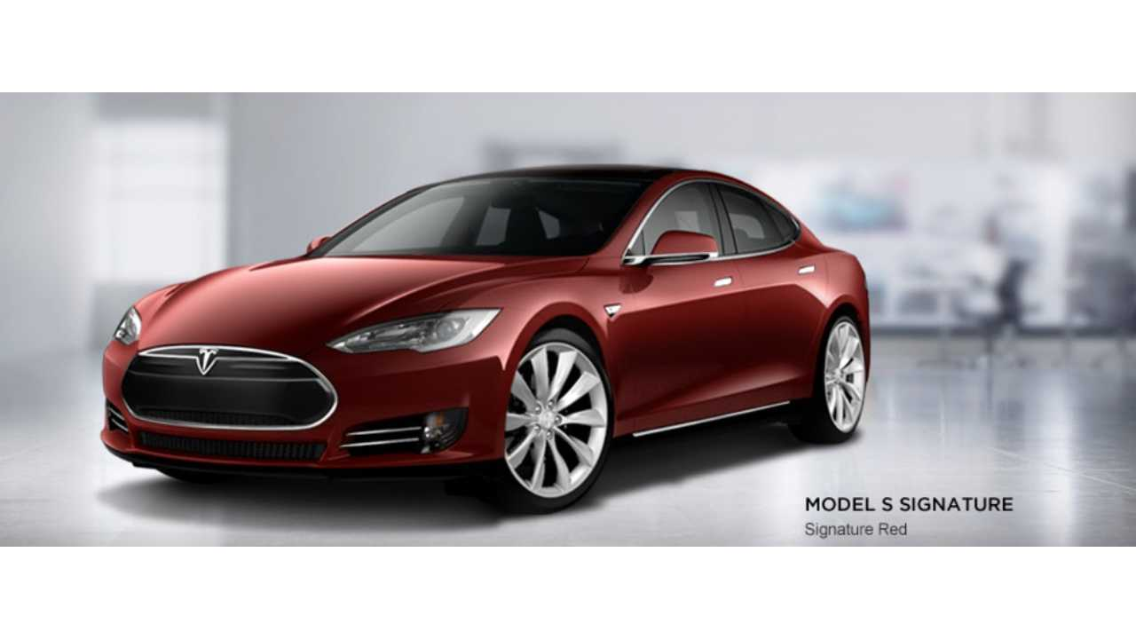 Tesla Model S Signature Series Is Sold Out