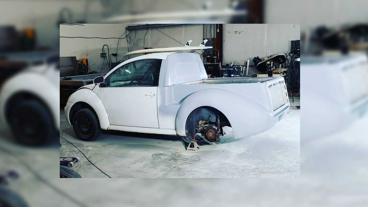 New Beetle Ute Conversion Is Ready To Haul Your Heart