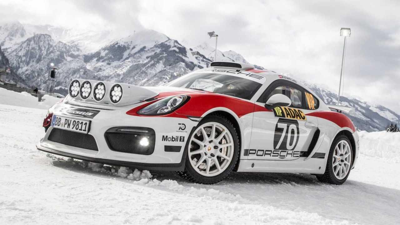 Porsche Cayman GT4 Rally