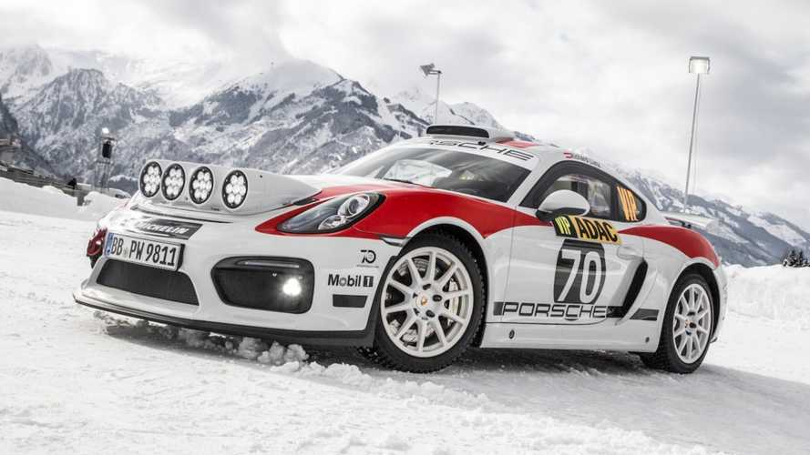 Porsche's rally car to be based on 718 Cayman GT4 Clubsport