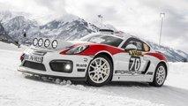 Porsche Cayman GT4 Rallye: Schnee-König mit 425 PS