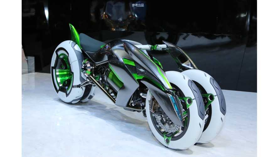 Kawasaki J - The Hottest Concept at the Tokyo Motor Show (w/videos)