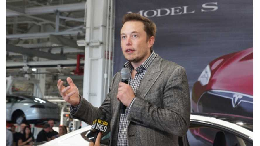 Elon Musk Chosen by MarketWatch as 2013 CEO of the Year - Beats Out CEOs of Facebook, Yahoo and LinkedIn