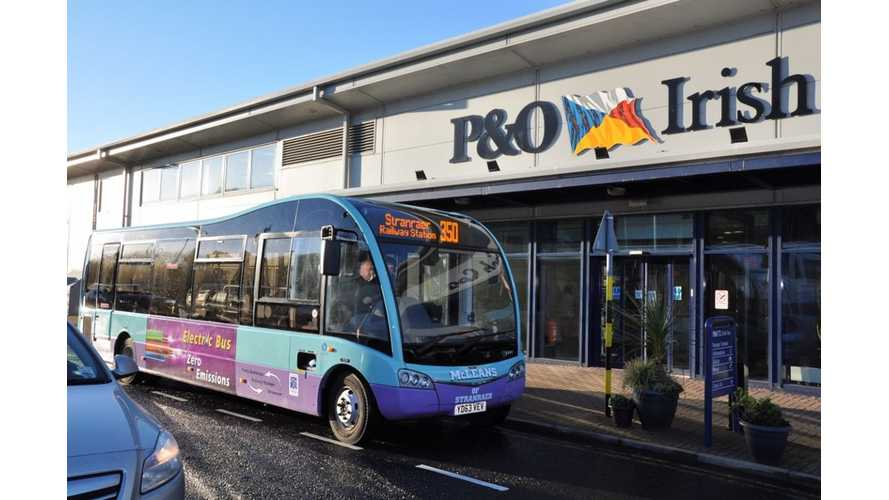 Scotland's First Electric Bus Service Launched; EV Bus Maker Optare Approaching 50 Units Sold in UK