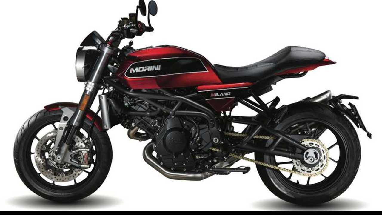 Moto Morini Milano Red Side