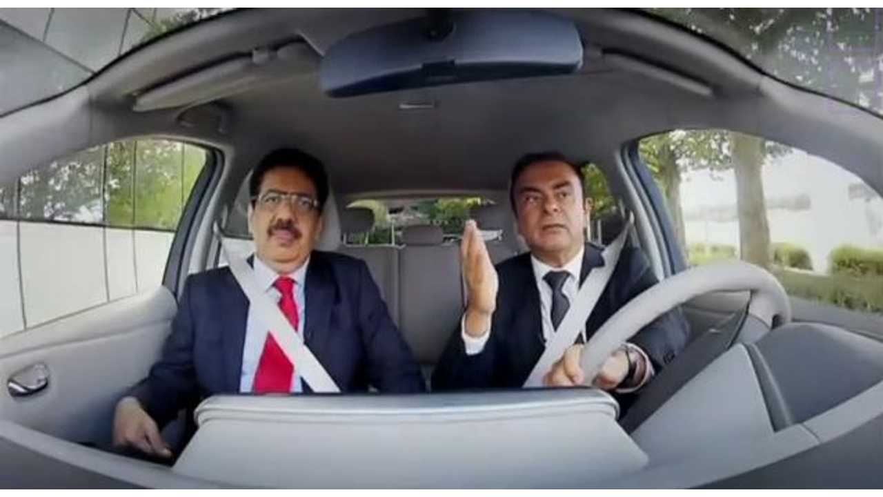 Nissan CEO Carlos Ghosn Wants To Be Remembered As The Main Pioneer Of EVs (Video)