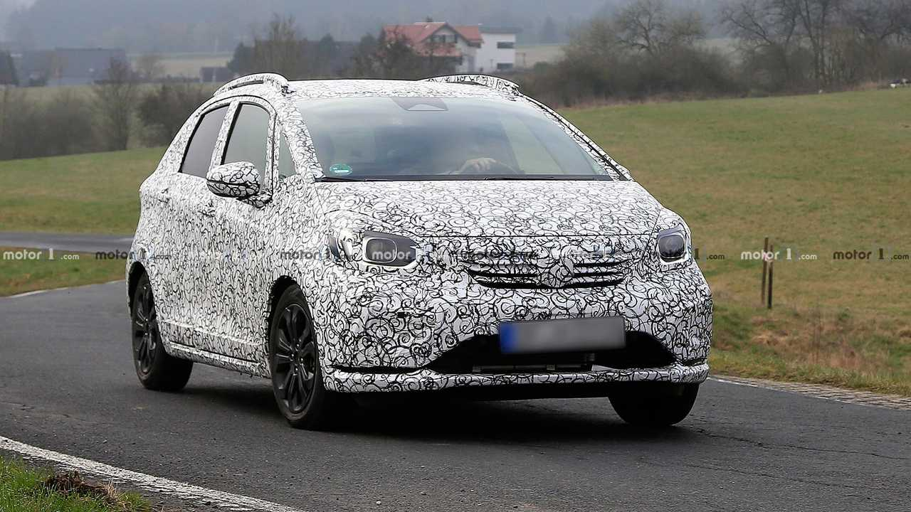 Honda Fit Honda Jazz Spy Shots