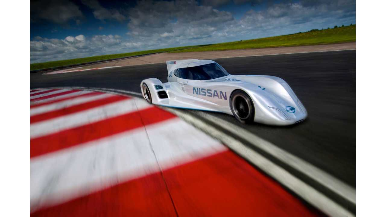 Nissan Unveils 2014 LeMans Entry ZEOD RC; World's Fastest Electric Racer (Video + Q&A)