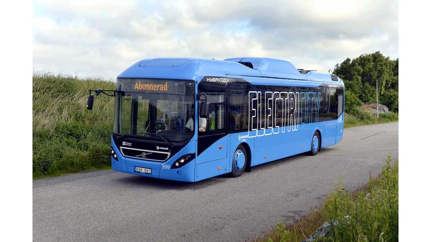 Volvo Electric Buses to be on Streets of Gothenburg in 2015