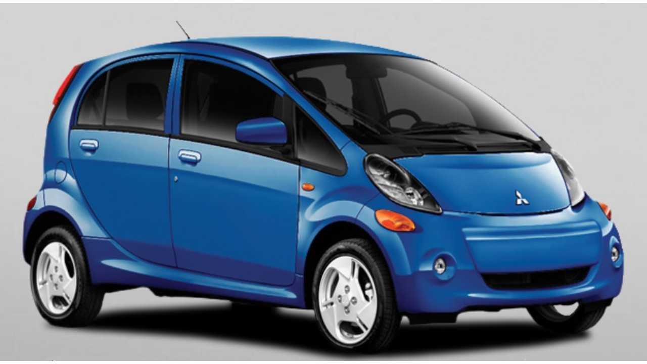 Do You Like The 2013 i-MiEV In Ocean Blue? (currently available in Canada) You Might Still Have A Chance To Own One