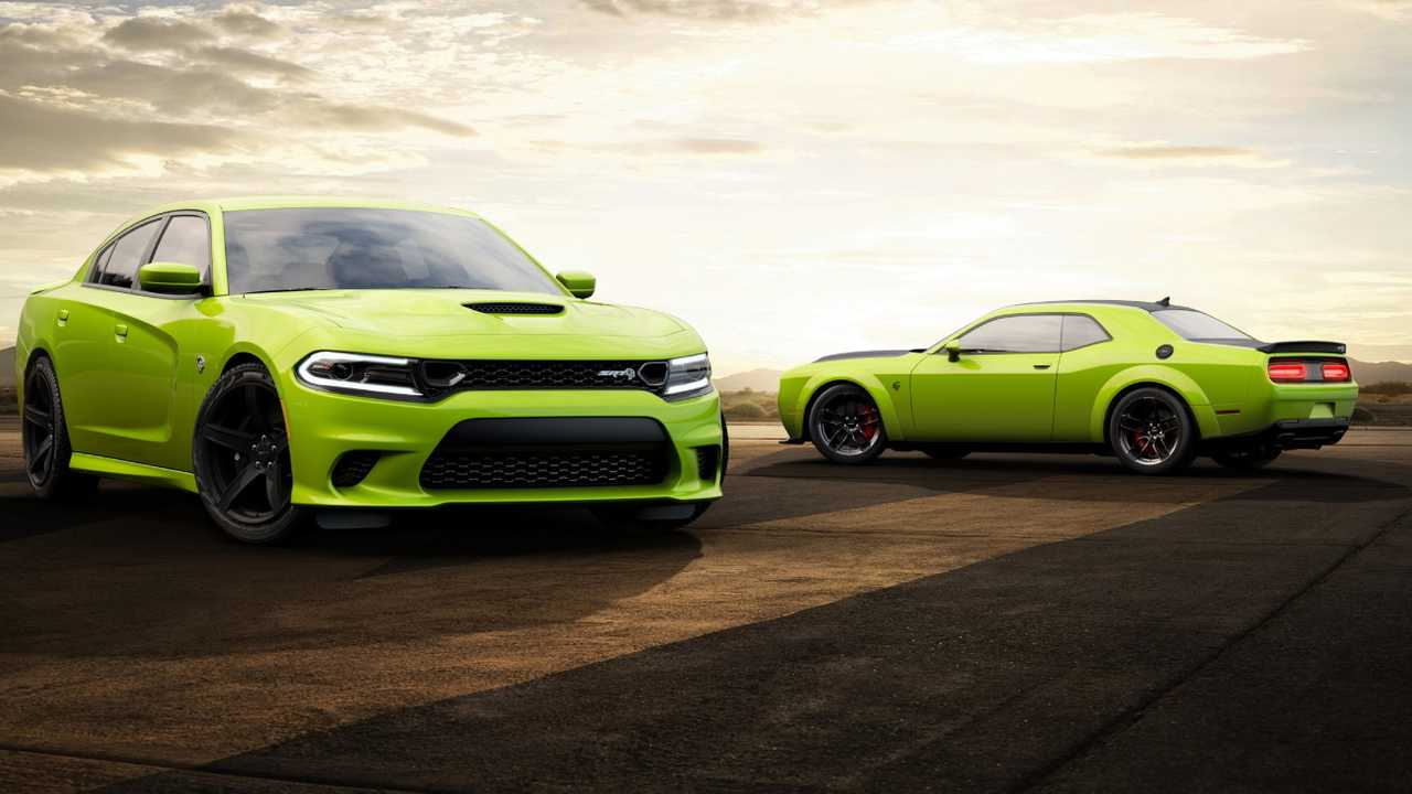 Dodge Challenger And Charger In Sublime