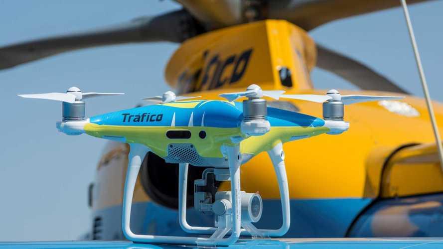 Los drones de la DGT ya están multando
