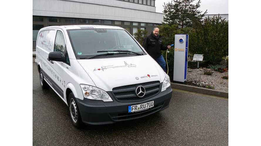 Mercedes-Benz Vito E-CELL in Practical Deployment - Daimler Tells the Story From an Owner's Perspective in Freiburg, Germany