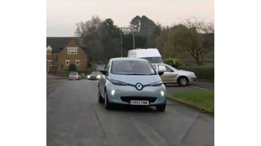 Video: Renault Zoe Pedestrian Warning System