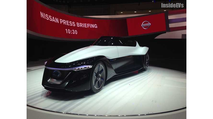 "Nissan BladeGlider Pairs ""Extreme Handling"" With ""Extreme Fun"""
