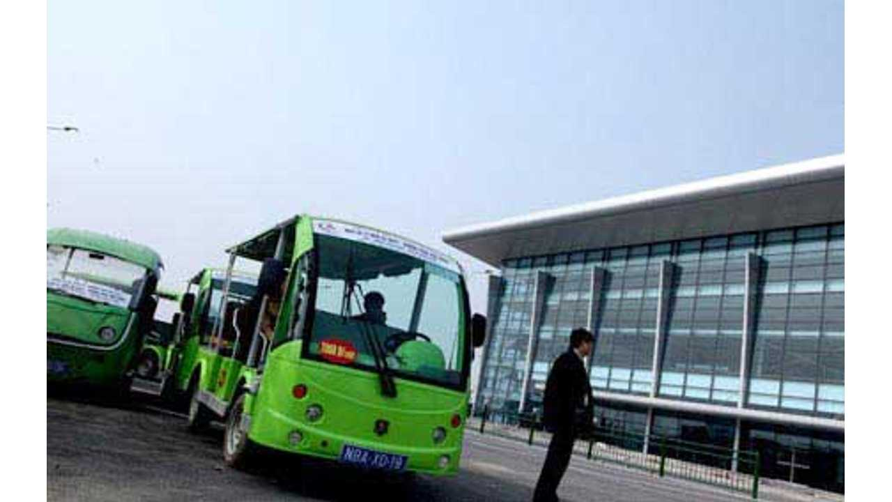 Vietnam to Trial Electric Vehicles at Noi Bai International Airport