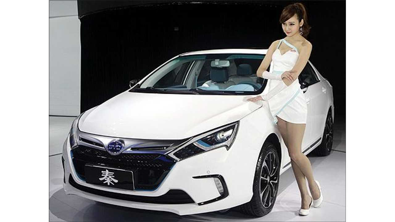 BYD Says Qin Plug-In Hybrid Will be Sold in US Starting in 2015