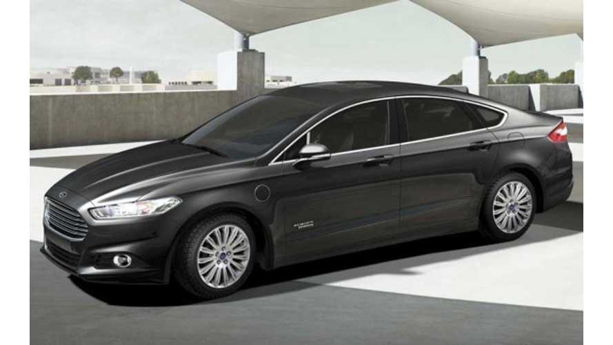 Breaking: Ford Fusion Energi Gets A $4,000 Price Reduction To $34,700