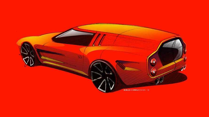 """Une """"nouvelle"""" Ferrari Breadvan sur base de 550 Maranello"""