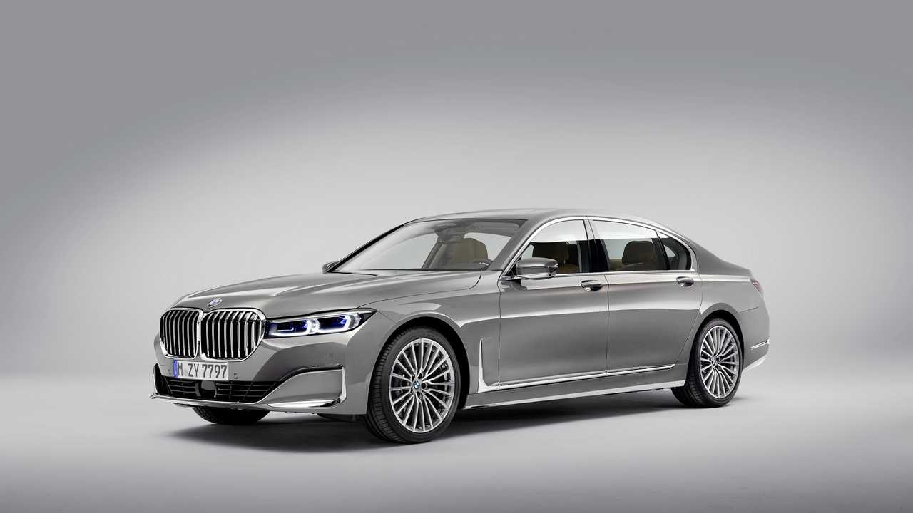 New Bmw 7 Series >> 2020 Bmw 7 Series Debuts With Massive Grille New V8 Engine