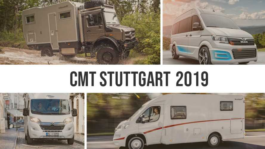 Live the German motorhome life with these 21 debuts in Stuttgart