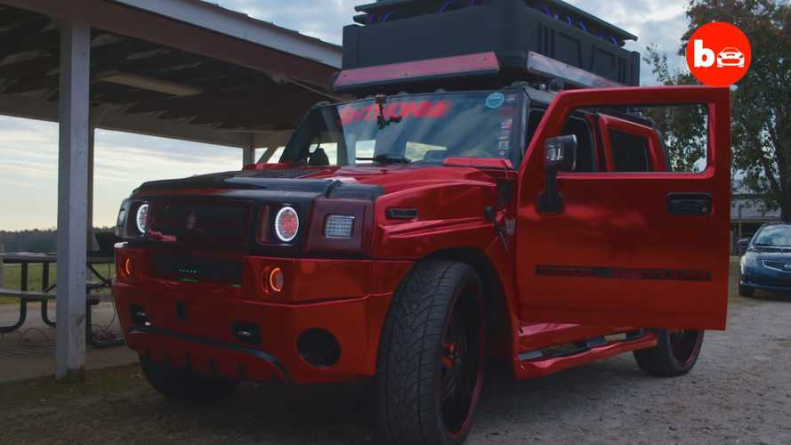 Crazy Hummer H2 Has 86 Speakers, Can Be Heard 3 Miles Away