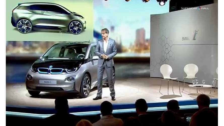 Video: BMW i3 Design Presentation