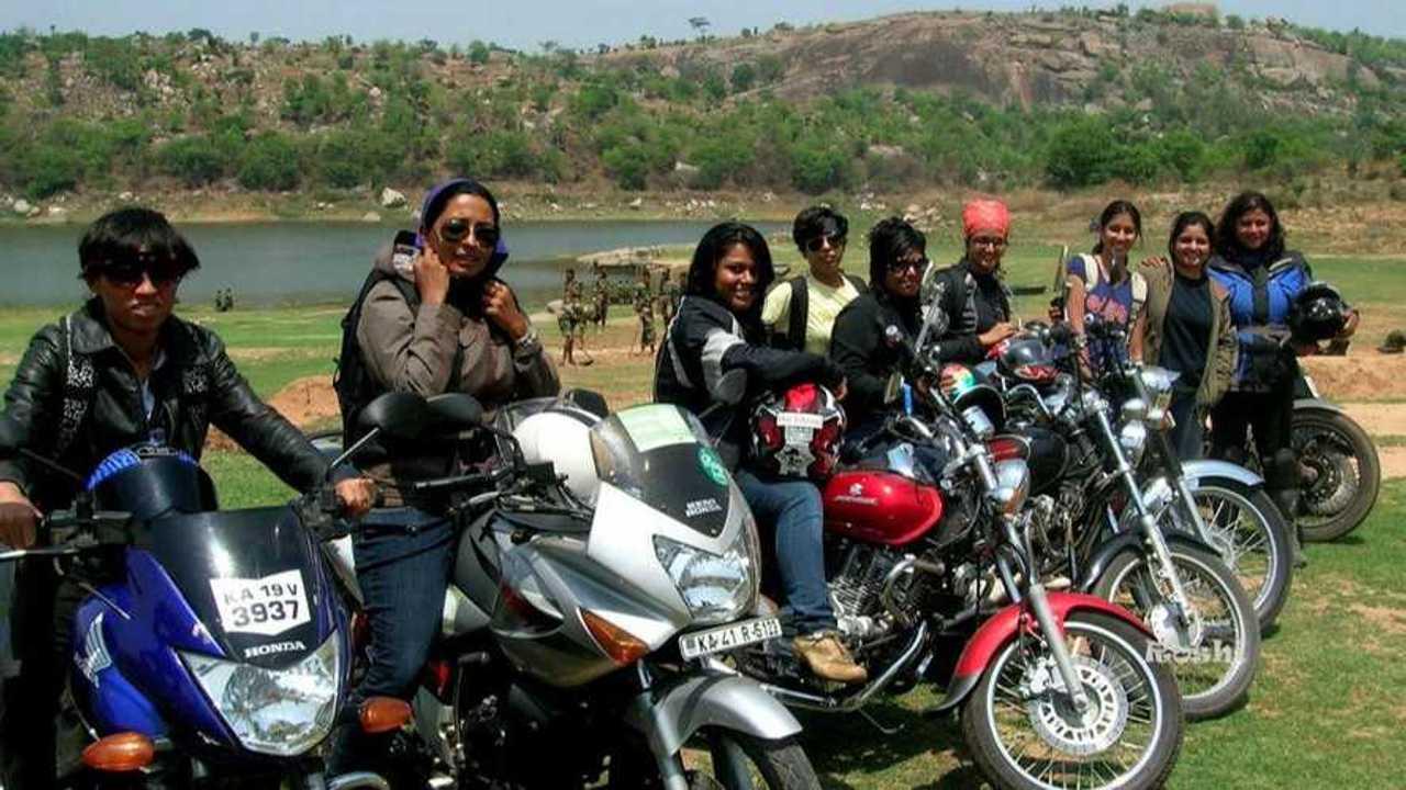 The Delhi Bikerni Women's Motorcycle Club