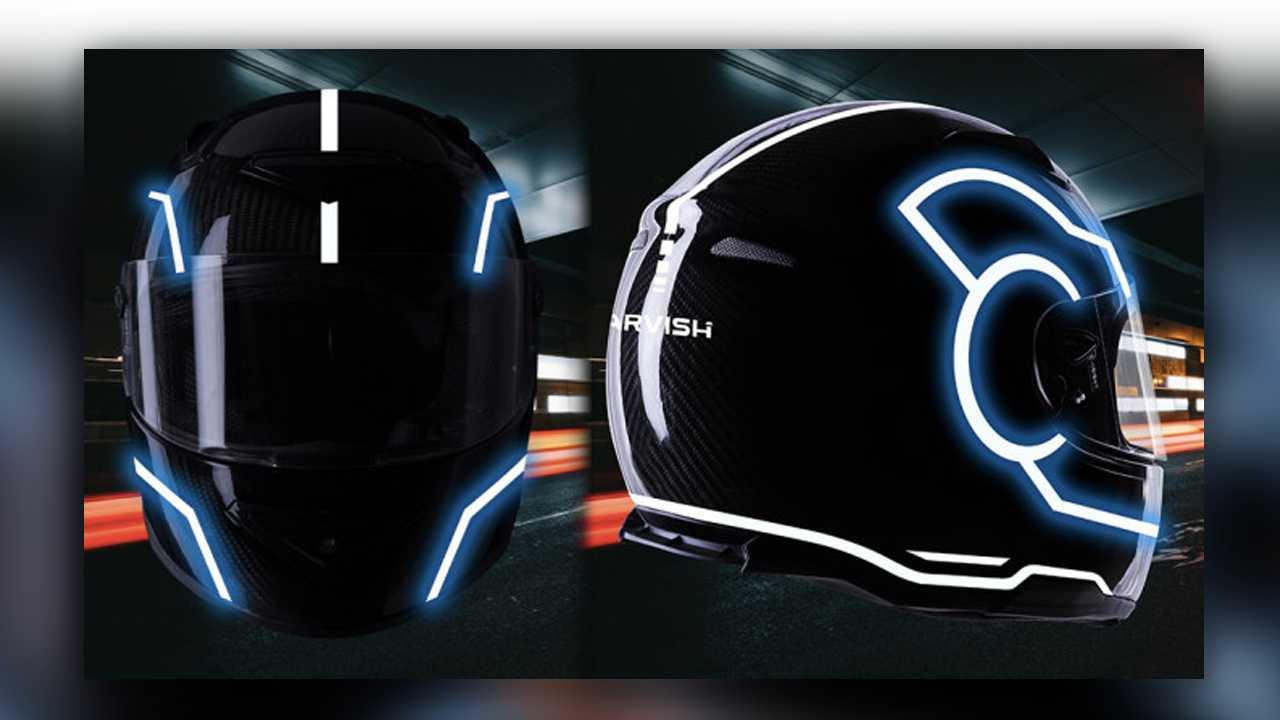 Jarvish Tron Helmet