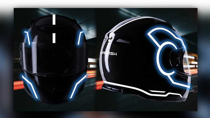 Game On: Get Your Tron-Inspired Helmet