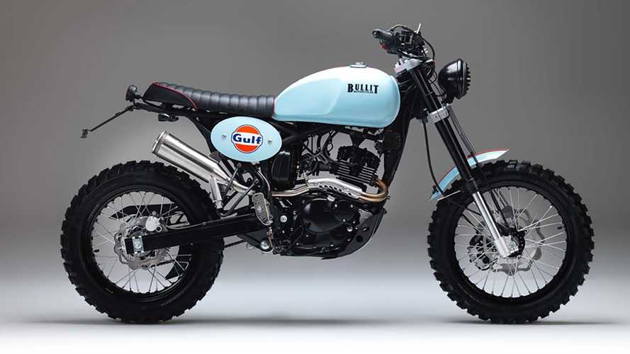 Bullit Motorcycles In Gulf Oil Livery: Too Lovely