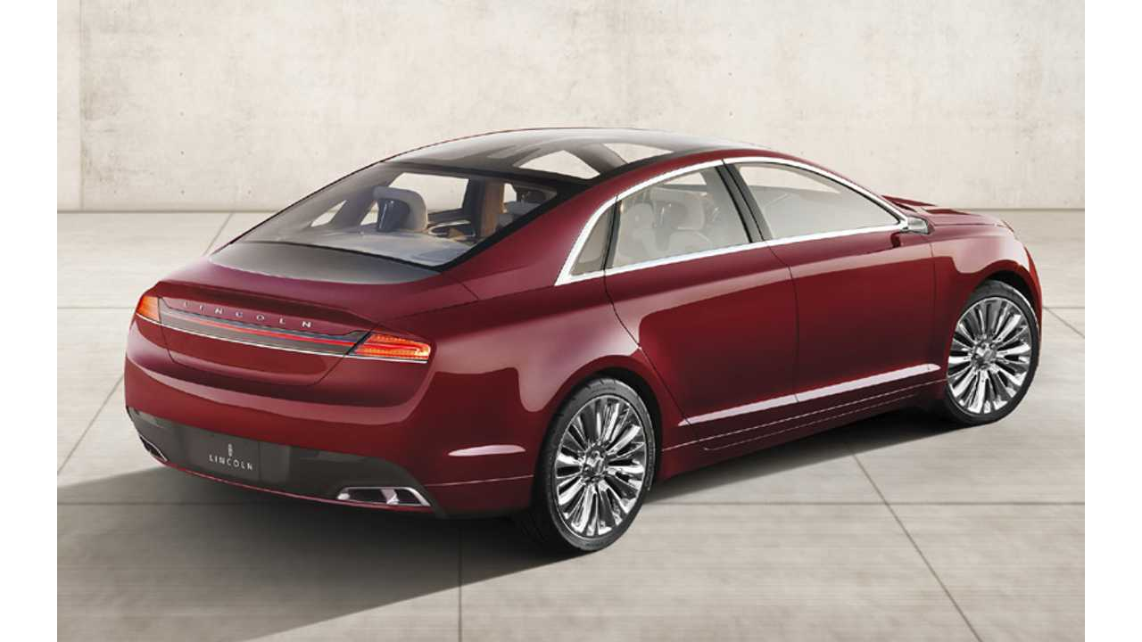 A Lincoln Mkz Plug In Seems Like Natural Addition Alongside The Hybrid
