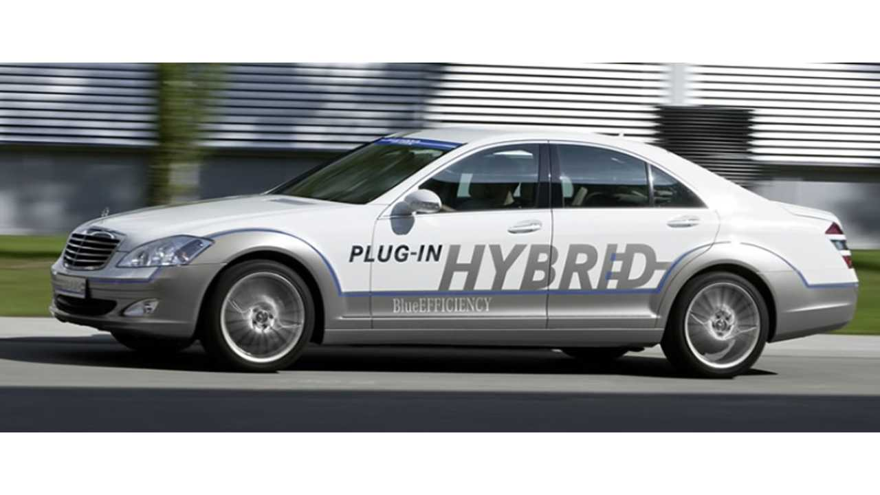 Mercedes-Benz Inadvertently Reveals Upcoming S-Class Plug-In Hybrid