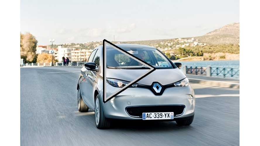 Video First Drive: Meet the Renault Zoe