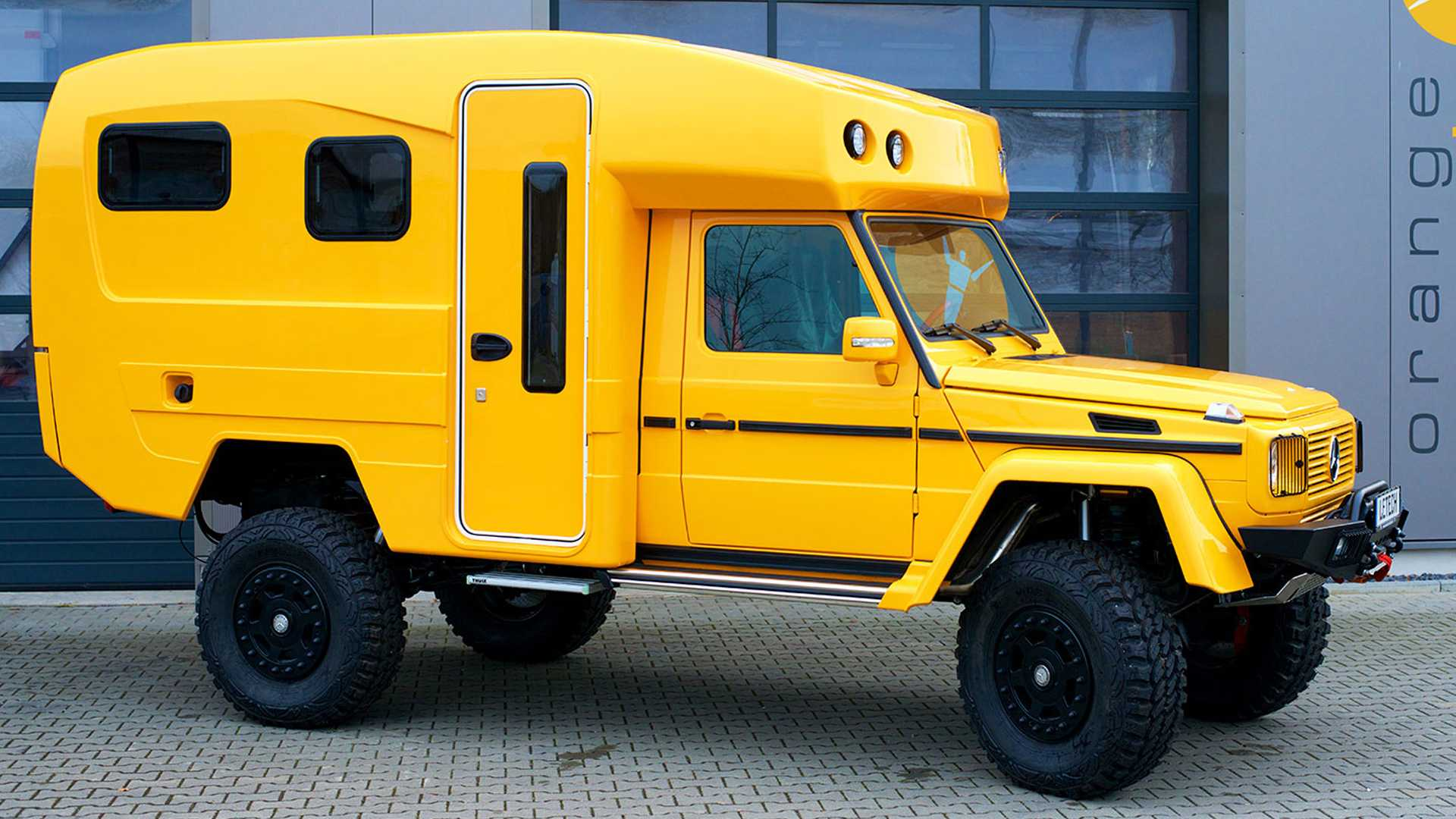 This Custom Mercedes G Class Camper Seeks Off Road Adventure