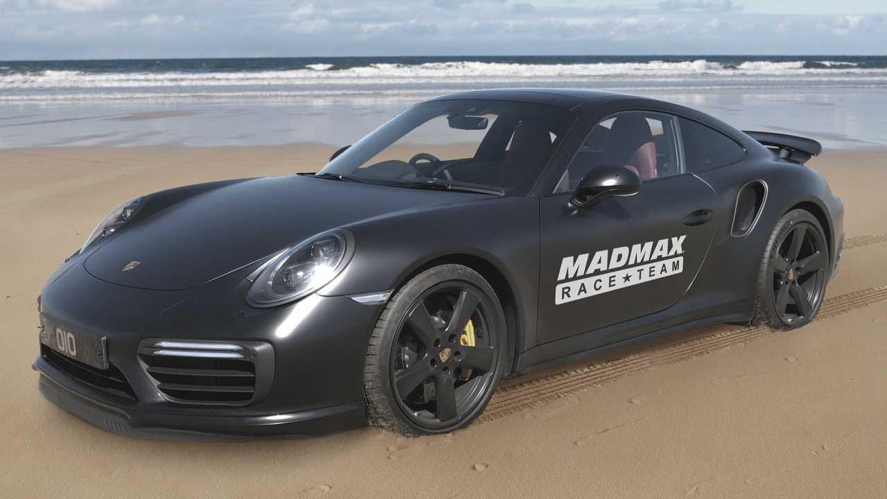 Porsche 911 Turbo S Madmax Race Team
