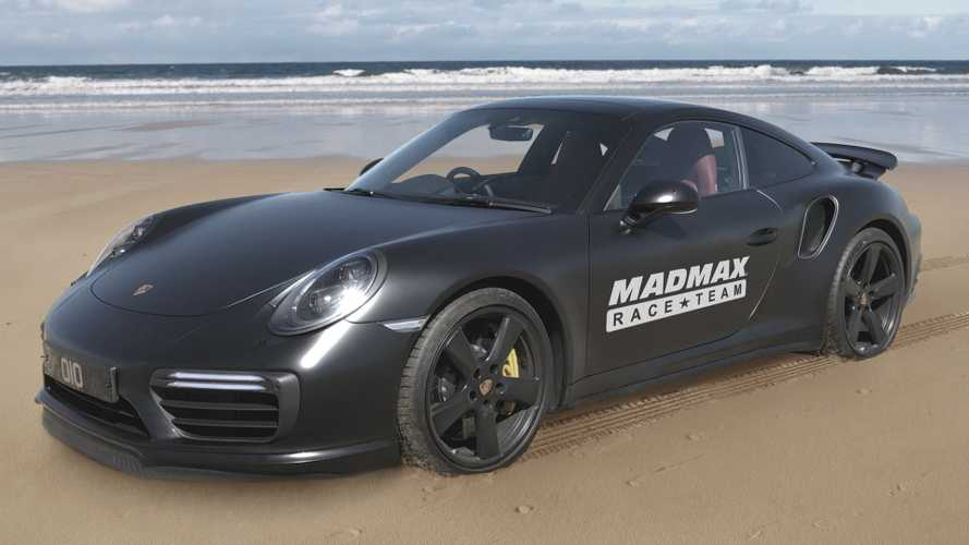 1,200-bhp Porsche 911 wants to be world's fastest car on sand