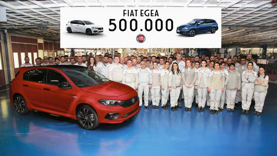 Fiat Egea 500.000 adet üretime ulaştı