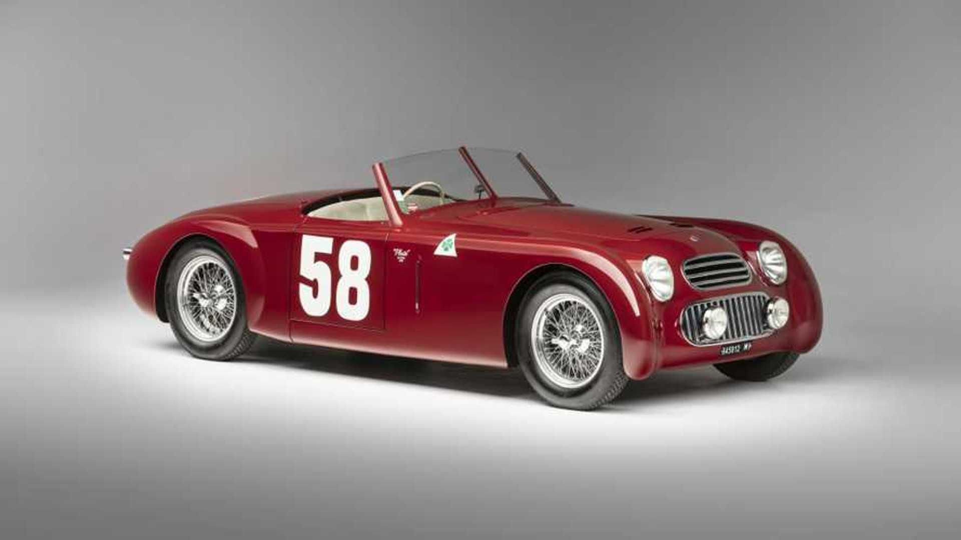 """[""""1949 Alfa Romeo 6C 2300 Platé Special Artcurial""""]"""