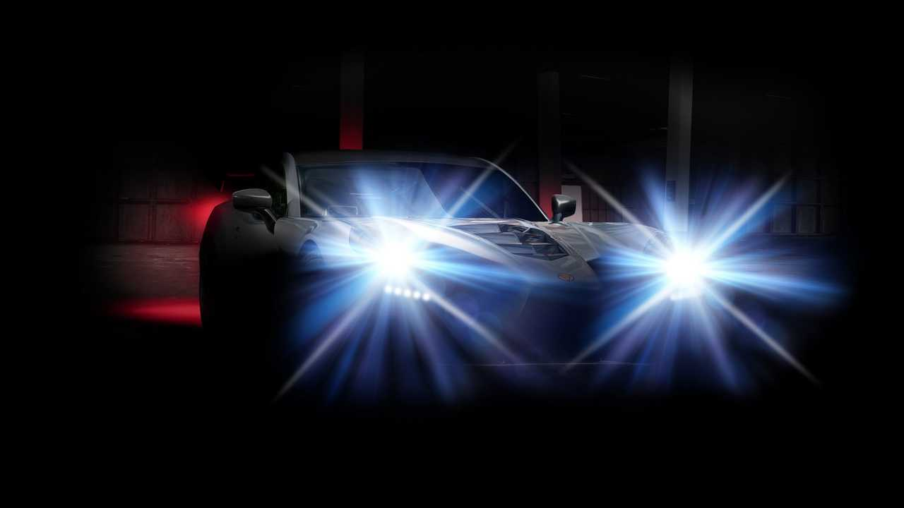 Ginetta supercar teaser