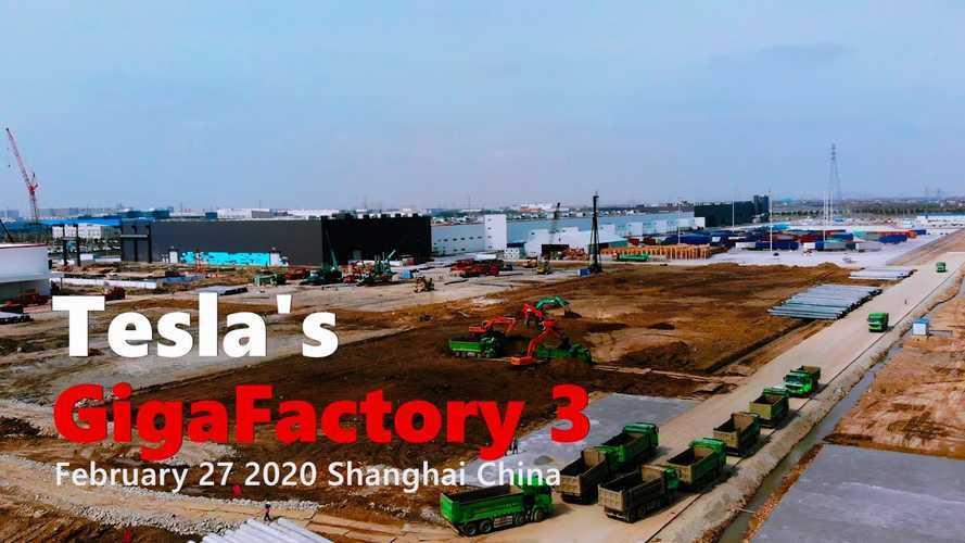 Tesla Starts Next Phase Of Gigafactory 3 Construction