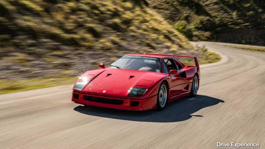 Un giorno con una Ferrari F40, il regalo di Natale di Davide Cironi