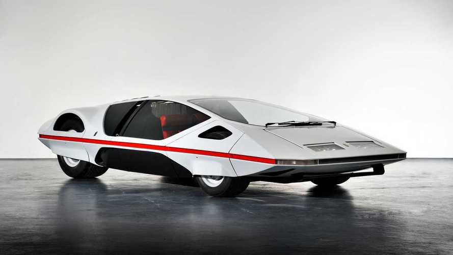 Concept oublié - Ferrari Modulo (1970)