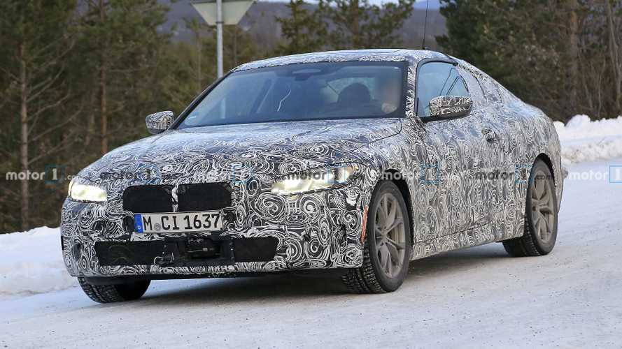 Шпионские фото BMW 4-й серии
