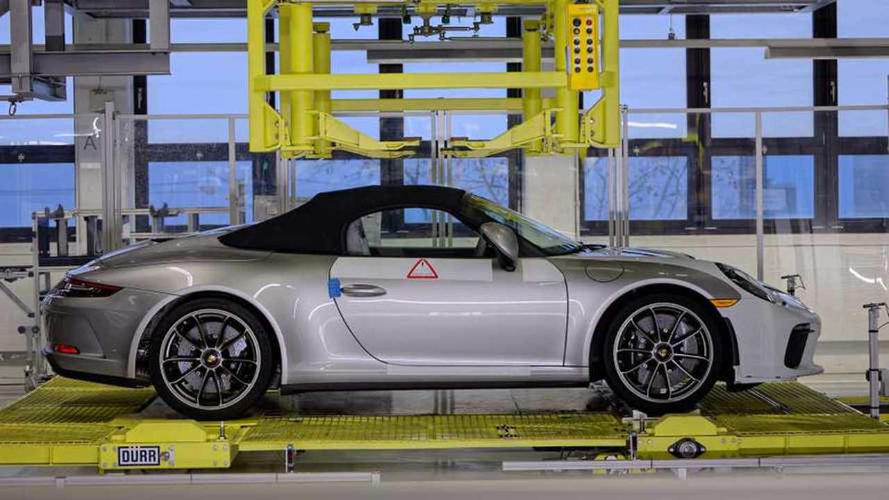Letzter Porsche 911 der Generation 991
